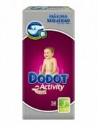Dodot Activity Talla 3 (5-10Kg) 56uds