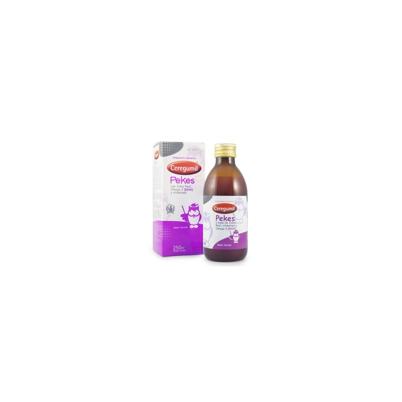 Ceregumil Pekes Vitaminales Infantiles 250 ml