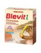 Blevit Plus 5 Cereales Superfibra 600g