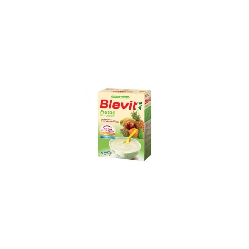 Blevit Plus Cereales con Frutas Sin Gluten 300g