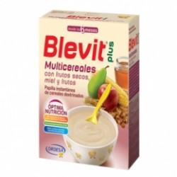 Blevit Plus Multicereales con Frutos Secos, Miel y Frutas 300g