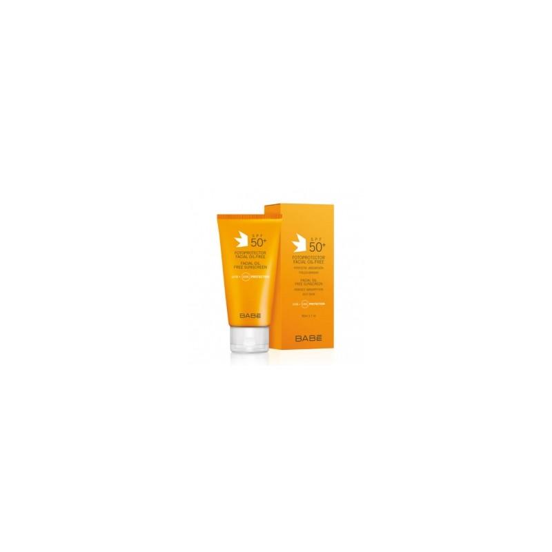 Protector Solar Facial Oil Free SPF50 Babé