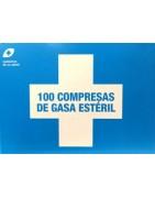 Interapothek Compresas de Gasa Estéril 100 Unidades