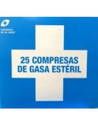 Interapothek Compresas de Gasa Estériles 25 Unidades
