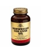 Aceite de Hígado de Bacalao Solgar 100 Cápsulas Blandas