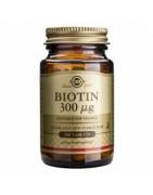 Biotina 300 mcg Solgar 100 Comprimidos