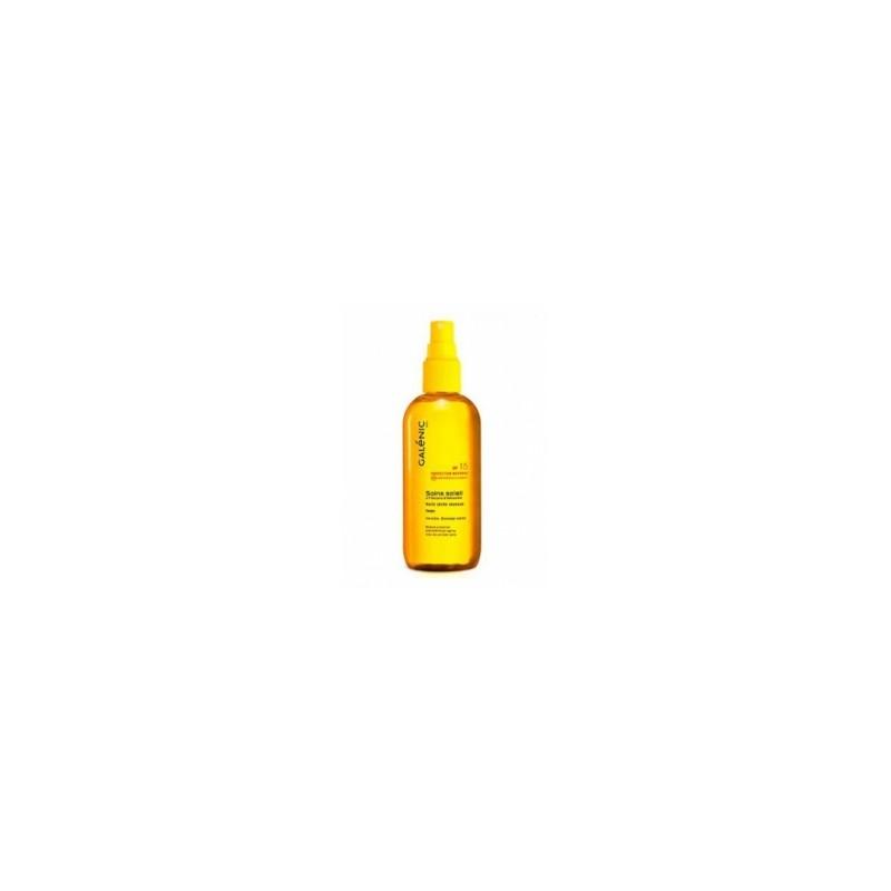 Galénic Aceite Solar Seco SPF15 Spray 150ml