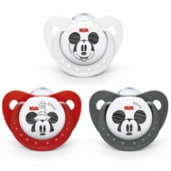 Chupete Nuk Mickey Mouse Silicona 0-6 Meses 1ud