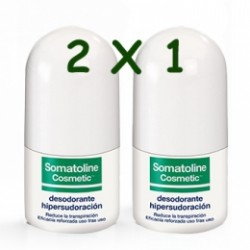 Somatoline Desodorante Hipersudoración RollOn 30ml 2x1
