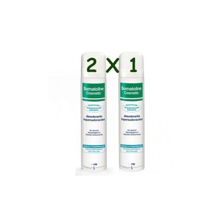 Somatoline Desodorante Spray Hipersudoración 75ml 2x1