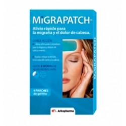 Migrapatch Parches Fríos Dolor de Cabeza 4 Parches