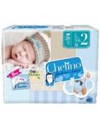 Pañal Chelino Love T2 3-6Kg 28Uds