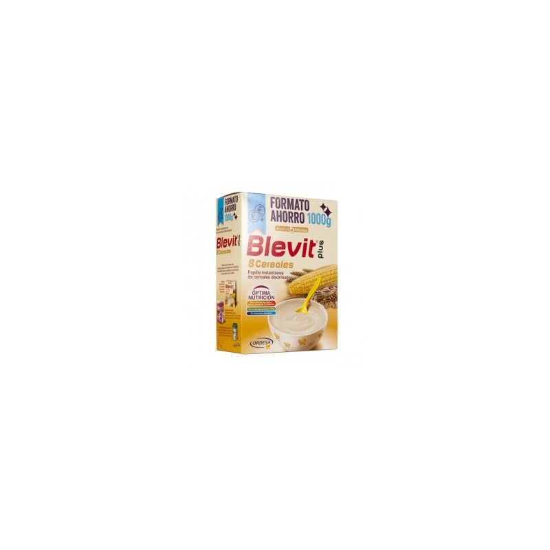 Blevit Plus 8 Cereales Formato Ahorro 1000g
