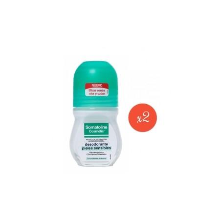 Somatoline Desodorante Pieles Sensibles Pack 2x50ml