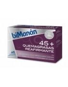Bimanan 45+ Quemagrasas Reafirmante 48caps