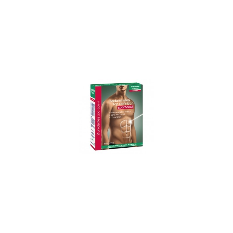 Somatoline Hombre Abdominales Top Definition Sport Cool 2x200ml