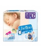 Pañales Chelino Love T6 17-28Kg 27Uds