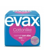 Evax Cottonlike Compresa Normal Con Alas 16ud