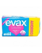 Evax Cottonlike Compresa Normal Con Alas Pack Ahorro 32ud