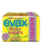 Evax Fina y Segura Compresa Normal sin Alas Pack Ahorro 28ud