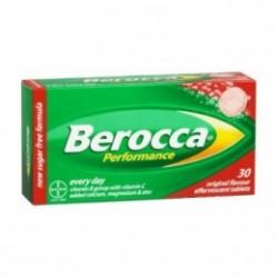 Berocca Performance 30 Comprimidos Efervescentes Frutos Rojos