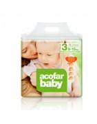 Pañales Infantiles Acofar Baby T3 (9-15 kg) 28uds