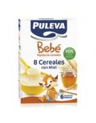 Puleva Bebé 8 Cereales con Miel 500g