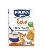 Puleva Bebé 8 Cereales con Galletas María 500g