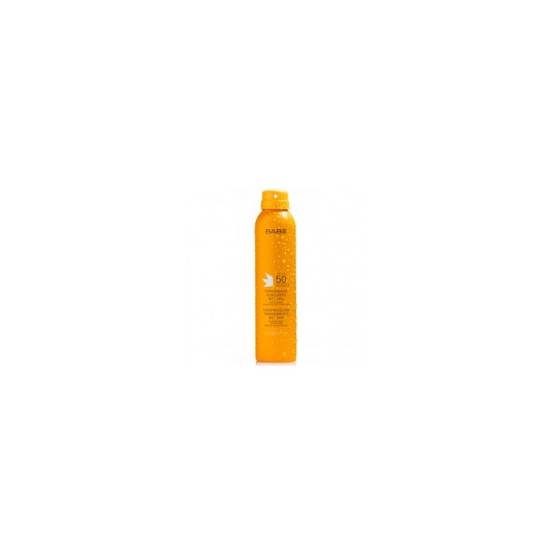 Protector Solar Transparente Wet Skin Babé SPF50 200ml