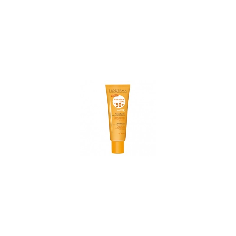 Bioderma Photoderm Max SPF50 Aquafluido Sin Color 30ml