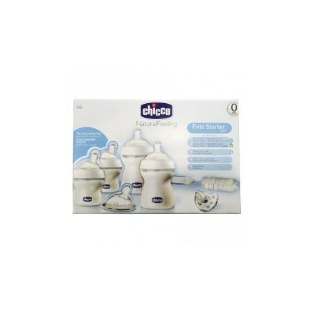 Chicco Set Completo Inicial Natural Feeling