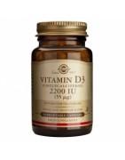 Vitamina D3 Solgar 2200 IU 50 Vegicaps