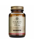 Folacín Acido Fólico Solgar 400mcg 250 Comprimidos