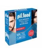 Pilfood Pack Intensity Ampollas Anticaída + Cápsulas + Champú