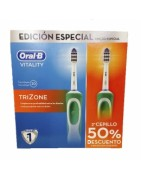 Cepillo Eléctrico Trizone Duplo 2ª ud al 50%