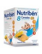 Nutriben 8 Cereales con Galletas María 600g