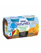 Nestle Naturnes Plátano Pera Manzana y Naranja 2x130g