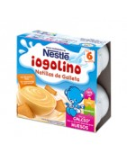 Nestle Iogolino Natillas Sabor Galleta 4x100g
