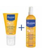 Mustela Pack Solar Crema de Cara + Spray Corporal SPF50