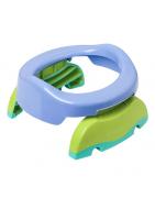 Orinal y Reductor de WC Potette Plus SARO morado y verde