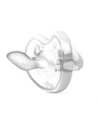 Chupete Orthosoft Nuvita 100% Silicona blanco