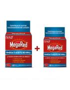 MegaRed Omega3 Aceite de Krill 60 Cápsulas