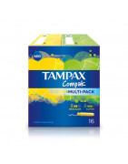 Tampax Compak Multipack 8 Regular + 8 Super