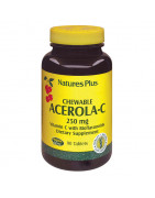 Acerola C 250mg Natures Plus 90 Comp Masticables
