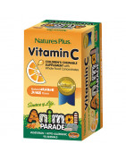 Animal Parade Vitamina C Natures Plus 90 Comp Masticables