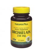 Bromelaina 250mg Natures Plus 90 Comps