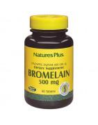Bromelaina 500mg Natures Plus 60 Comps