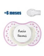 copy of Chupete Personalizable Lovi Rosa Blanco Noche y Día +6 Meses