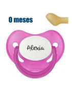 Chupete Personalizable Canpol Rosa Nocturno +6 Meses