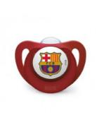 Chupete del Barcelona Nuk +18 Meses 1ud